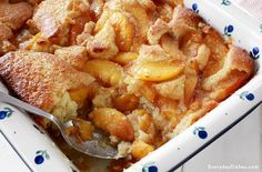 Old-fashioned Peach Cobbler--Louisiana Cookin'