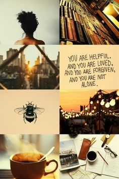 hufflepuff aesthetic. Always wonderful to hear you are loved! And it true