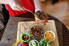 Walking Tacos -Thinking about this for the concession stand this summer