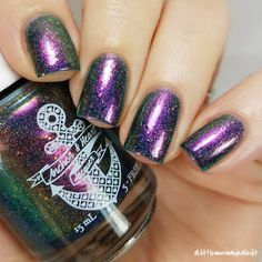Anchor and Heart Lacquer Through The Stones Collection Time Traveler Swatches and Review