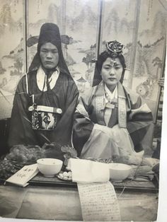 (My Korean Grandparents at their traditional wedding. Please visit my website to view more. Funny Photoshop Fails, Korean Photography, Wedding Photography, Funny Photo Captions, Uber Humor, Korean People, Korean American, Korean Art, Traditional Wedding