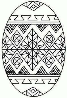 ukraine eggs coloring pages - photo#36