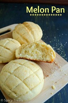 Spicy Treats: Melon Pan / Japanese Melon Pan Recipe