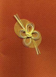 lovely mizuhiki ornament...