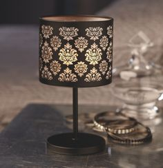 NEW Forbidden Boudior Candle Lamp - one of my absolute favorite PartyLite collections! #PartyLite #candles #lamp www.partylite.biz/jenniferandreottola