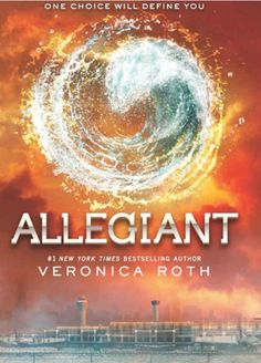 I liked Veronica Roth's young adult book series too. And then I read the third book, Allegiant , which came out in the fall. WARNING: Stop r...