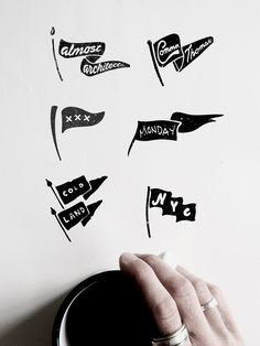 VISLA Graphic - illustration and logo design  --  flag / pennant