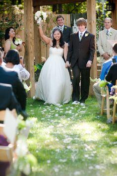 Richmond Virginia Rustic Backyard Wedding - Rustic Wedding Chic