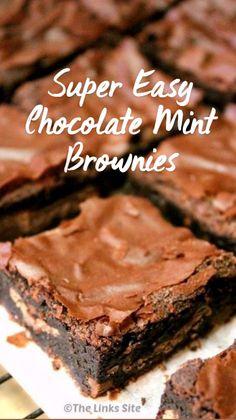 Best Moist Chocolate Cake, Chocolate Mint Brownies, Chocolate Recipes, Chocolate Dreams, Chocolate Heaven, Tart Recipes, Brownie Recipes, Cupcake Recipes, Cornflake Tart Recipe