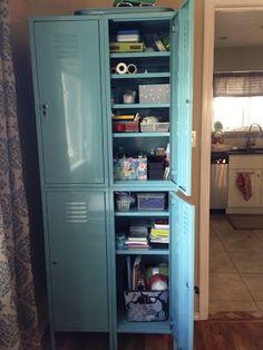 Ikea Lockers, tons of storage. Delineate Your Dwelling: One Locker down, One Locker to go