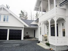 Hus-og-garasje Sveitserhus