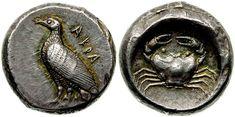 Greek Coins: Archaic  _:Sicilia,Akragas,ca 500 BC