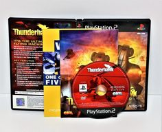PLAYSTATION 2 THUNDERHAWK OPERATION PHEONIX GAME PS1 PS2 PS3 PAL HELICOPTER