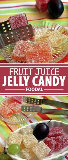 Looking for an all natural and healthy replacement for gumdrops and jellybeans? Try this candy made from fresh fruit juice. Flavored with all natural ingredients, it's a heck of a lot better for you than store bought versions. Beautifully Tasty. Get the recipe on Foodal now!