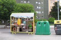Collecteur d'encombrant : my treasured trash par Ana Mir/Emili Padros (Exposition : In progress: design looks to the future)