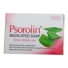 Psorolin Medicated Bathing Bar Restores normal skin Regulates exfoliation Established therapeutic benefits