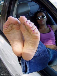 The King Zilla Proudly Presents: Huge Sweaty Thick Ebony Feet!.