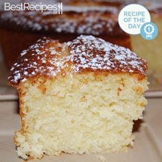 Lemon Yoghurt Cake I used just 1 cup of sugar still sweet and really good! Lemon Recipes, Easy Cake Recipes, Sweet Recipes, Baking Recipes, Dessert Recipes, Food Cakes, Cupcake Cakes, Cupcakes, Lemon Yogurt Cake