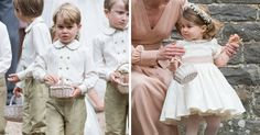Prince George and Princess Charlotte were the cutest members of Pippa Middleton's wedding party