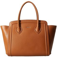 Furla College Large Tote North/South (€515) ❤ liked on Polyvore featuring bags, handbags, tote bags, siena, zip top tote, structured handbag, structured tote bag, furla purses and structured purse