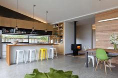 Davy House - Contemporary - Kitchen - Auckland - by Creative Arch