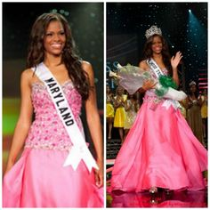 Kamie Crawford wins Miss Teen USA in her custom gown from LA CASA HERMOSA of Wellington