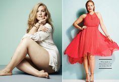 Model plus size,Justine LeGault