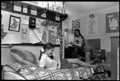 """Johnson Complex residence hall room interior, 1975"" --To learn more, visit the Ball State University Campus Photographs in the Ball State University Digital Media Repository. Copyright 2012, Ball State University. All rights reserved"