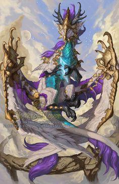 Dragon Art by Sixthleafclover-Virgo 2015