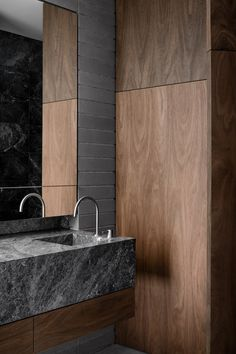 Bathroom Furniture : Australian Interior Design Awards -Read More – Modern Master Bathroom, Modern Bathroom Design, Bathroom Interior Design, Home Interior, Small Bathroom, Interior Decorating, Bathroom Ideas, Bathroom Faucets, Master Baths