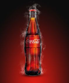 Coca Cola by Akira Habu, via Behance