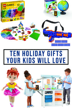 Everyday Party Magazine shares 10 amazing gift ideas for kids of all ages! #GiftGuide #Amazon