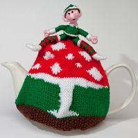 Elf and safety tea cosy