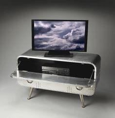 Since Butler Specialty Co. has prided itself on creating the broadest collection of furniture and fixtures with a masculine edge. Airplane Decor, Airplane Bedroom, Aviation Theme, Industrial Chic, Room Themes, Wood Construction, Kids Furniture, Decoration, Butler