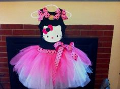 Hello Kitty tutu dress...Great for any party.