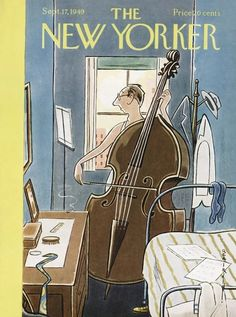 Rea Irvin : Cover art for The New Yorker 1283 - 17 September 1949 The New Yorker, New Yorker Covers, Vintage Comics, Vintage Posters, Vintage Art, Capas New Yorker, Illustrations, Illustration Art, Magazine Art