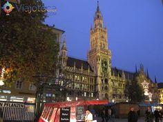 1 cidade 1 atração Munique Marienplatz capa