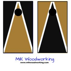 Wofford College Cornhole Set by MIK Woodworking