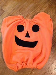 knit 'n lit: 1 Hour Pumpkin Costume: Tutorial
