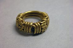 Coiled ring, Second half of the 8th–second half of the 10th century, Indonesia (Java), Gold