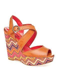 UNLISTED Bend N Snap Wedge Sandal
