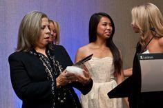 Patti Austin receives the first Design New England's MIDDIES Award
