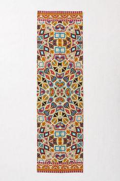 Flutter Pattern Rug #anthropologie 2.5x9 $298