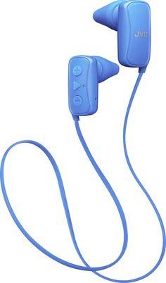 JVC - Gumy Wireless In-Ear Headphones - Blue