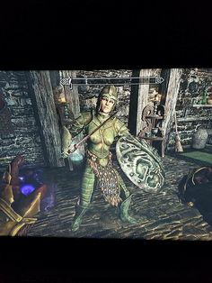 Lydia the Warrior #games #Skyrim #elderscrolls #BE3 #gaming #videogames #Concours #NGC