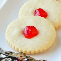 Old Fashioned Shortbread Cookies Close up
