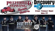 Tune in tonight to watch the excitement with Preferred Towing Sarnia