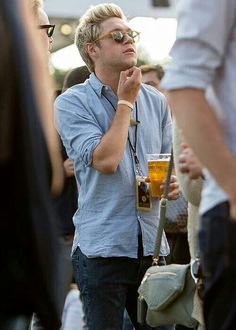 Niall at the British Summertime Festival