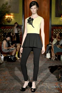 Behnaz Sarafpour Spring 2013 Ready-to-Wear Collection Slideshow on Style.com