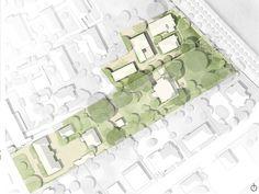Erster Preis für Schmitz Architekten - Campuserweiterung der Montag Stiftungen…